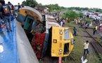 Monde: un accident de train fait 76 morts au Congo