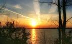 L'éruption solaire provoque des aurores boréales