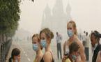 Le smog obscurcit toujours le ciel de Moscou