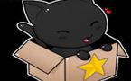 Vidéo d'un chat jeté à la poubelle