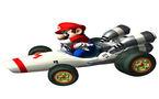 Mario Kart sur piste cyclable
