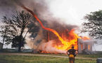 Une tornade de feu apparaît au Brésil