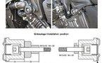 Roulettes, patins ou tampons de protection Moto