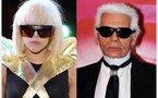 Mode: Le grand amour entre Gaga et Lagerfeld