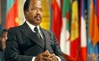 L'appel au départ du président camerounais