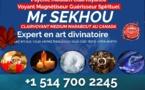 Sekhou clairvoyant medium marabout Montréal