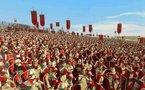 Le dieu Mars contre les légions de Rome