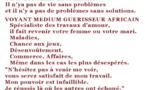 Cheikh Salimou Ousmane voyant medium guérisseur africain Normandie, Rouen, Le Havre, Caen