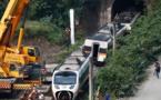Taiwan: au moins 34 morts après le déraillement de plusieurs wagons dans un tunnel
