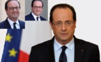François Hollande: les lunettes du bonheur