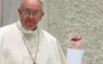 Le pape François au Parlement européen