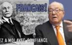 LE PEN avoue la présence de petainistes au FN