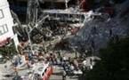 Actu Monde : Effondrement d'une grue à New York: au moins 1 mort