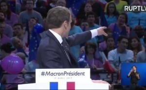 Élections présidentielles 2017: Macron à Bercy à une semaine du 1er tour