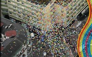 Toulouse: 400 ballons lâchés en soutien aux journalistes et actus Asie