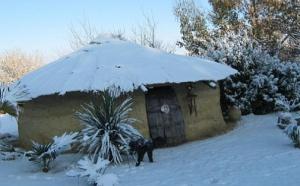 De la neige en Afrique