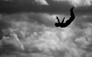 Insolite: Le saut de l'ange