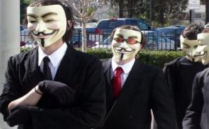 Internet: Google + et Anonymous