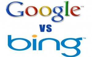 Internet: Bing plus efficace que Google