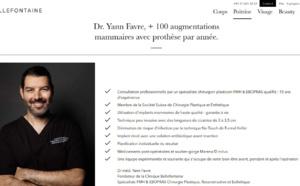 Augmentation mammaire Lausanne 2020