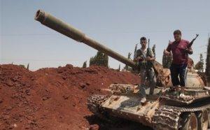 Les rebelles syriens encerclés à Alep