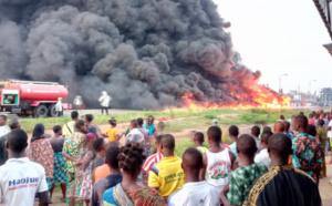 Bénin: un camion d'essence frelatée fait des dégâts