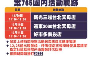 Taïwan: premier cas local de Covid-19 depuis Avril 2020