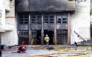 Genève: la Synagogue Hekhal Haness en feu