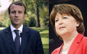 Macron Aubry: le PS cahin-caha