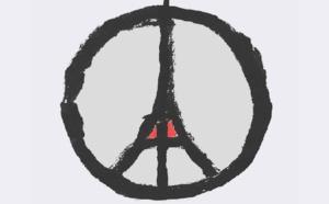 Les réactions aux attentats en série à Paris