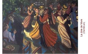 Gloria Vinci artiste peintre à Bordeaux