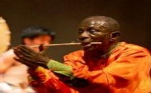Sénégal: Le percussionniste japonais Hidano en duo avec Doudou Ndiaye Rose