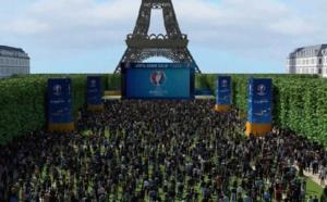 Anne Hidalgo présente la fan zone pour l'Euro 2016