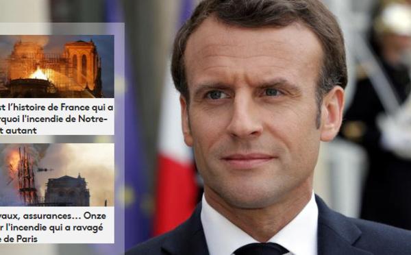 Emmanuel Macron Notre-Dame en feu et la colère des Français