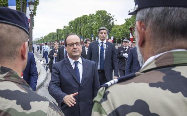 Dernière interview du quinquennat de François Hollande ce 14 juillet
