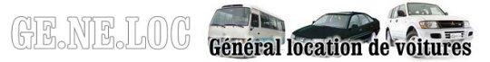 Visitez le site Internet de GENELOC Location de voitures et vhéicules à Dakar