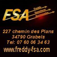Clliquez sur l'image pour visiter le site web Freddy FSA -Protections Motos