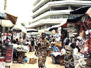 Vue de Lomé Togo