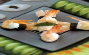 Menu de fêtes: sushi et sashimi