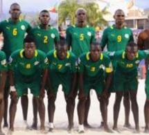 SENEGAL-MONDE-FOOTBALL Mondial de beach soccer : les Lions dominent l'Equateur