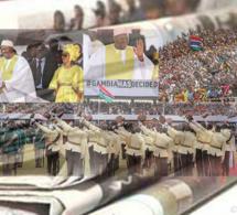 SENEGAL- REVUE DE PRESSE-LA FÊTE DE L'INDÉPENDANCE GAMBIENNE ET LA CONVOCATION DE KHALIFA SALL À LA DIC À LA UNE