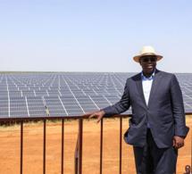 SENEGAL-ENERGIE MACKY SALL INAUGURE LA CENTRALE SOLAIRE PHOTOVOLTAÏQUE DE SANTHIOU MÉKHÉ, JEUDI