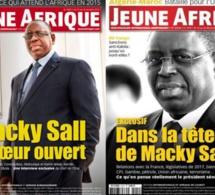 Com avant les présidentielles:Macky Sall «sucre» Jeune Afrique