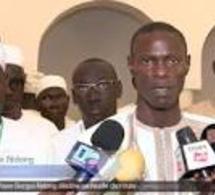 Le Ministre de la jeunesse Pape Gorgui Ndong à Tivaouane