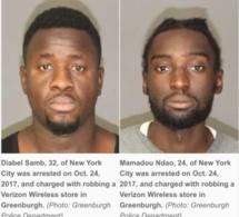 USA Vol à main armée:Comment les Gangsters sénégalais sont tombés
